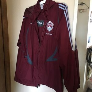Colorado rapids windbreaker jacket